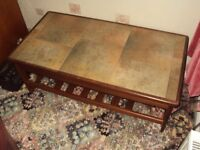 Coffee Table-Ceramic Tiled Top
