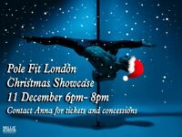 POLE FIT LONDON CHRISTMAS SHOWCASE