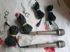 Sony condenser microphones