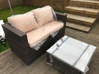 Outdoor Garden Patio Conservatory Rattan Sofa set - Free Delivery available