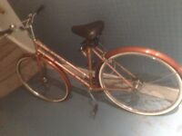 Small ladies vintage bike