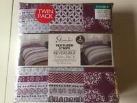 2 X Double Duvet Covers & 4 x pillowcases, Brand New