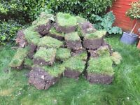 Free topsoil with turf