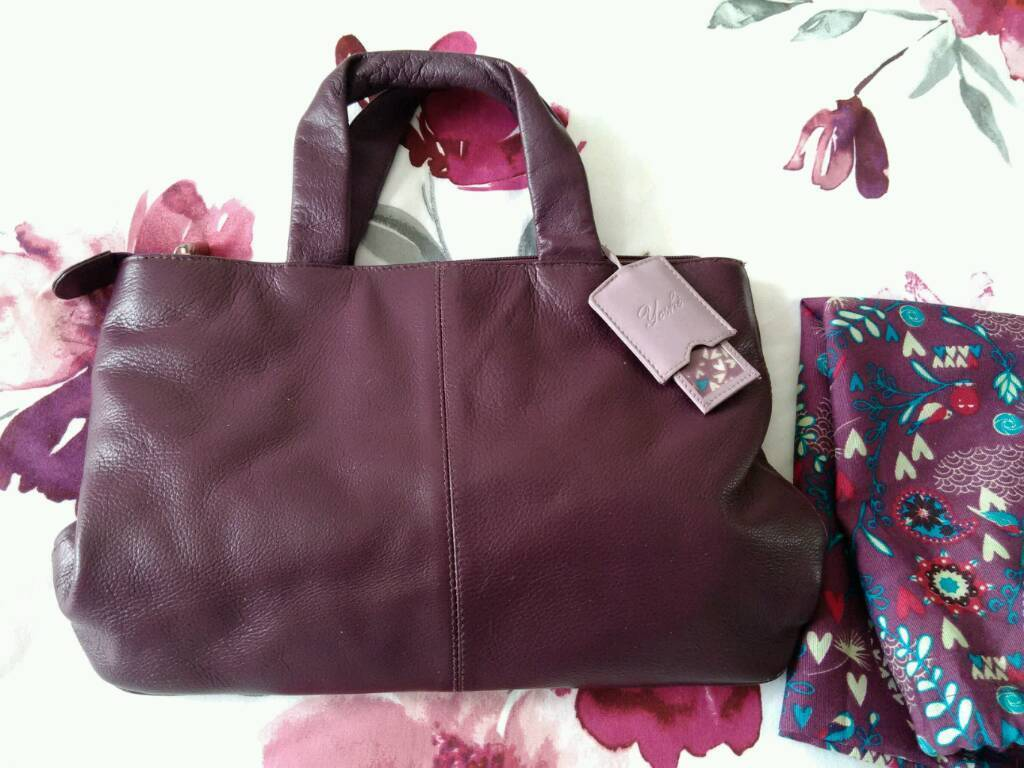 ... coupon for yoshi mulberry colour soft leather bag in new milton  hampshire bc273 3a1a9 de8a3175e1e68