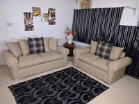 **SPECIAL OFFER** BRAND NEW WARM AND COSY RIO CORNER SOFA OR 3+2