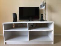 TV Ikea stand - white