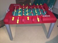 Children's table football game