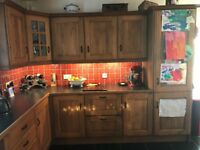 Kitchen - Solid Oak Kitchen For Sale