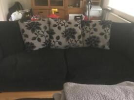 Large Black sofa
