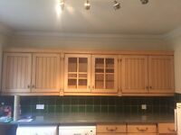kitchen cabinets - swiss pear