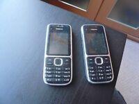 Nokia C2-01 Mobile Phones 2x