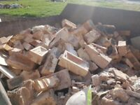 household bricks to sell. take away quickly before skip is removed