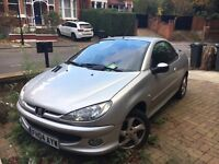 Peugeot 206cc - looking for quick sale.