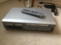 Hitachi combination DVD & VIDEO player