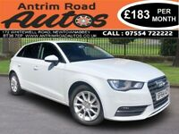 2014 AUDI A3 SE 1.6 TDI ** FINANCE AVAILABLE WITH NO DEPOSIT NEEDED **