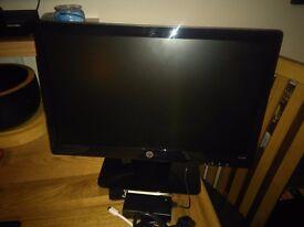 20'' HP computer monitor