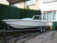 19' Ring Speedboat with 150hp outboard