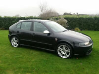 2005 SEAT LEON FR TDI**DIESEL**SERVICE HISTORY*[A3 A4 BMW 320D Golf Bora Toledo Honda Civic Type R]