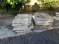 Paving slabs - good condition