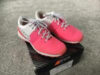 Grays pink hockey shoes size 3
