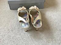 Bridal/ wedding shoes size 6