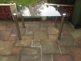 Glass Table from Fishpools