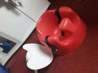 Bumbo - with belt and trays