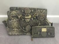 Michael Kors handbag and matching purse