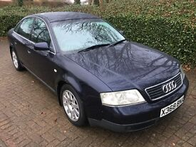 2000 AUDI A6 1.9 TDI TURBO DIESEL SALOON MANUAL BLUE