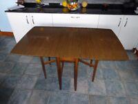 Gate Leg, Drop Leaf, Heatproof Dining Table