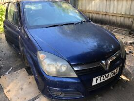 2004 Vauxhall Astra Club Twinport 5dr 1.6 Petrol Blue BREAKING FOR SPARES