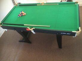 Riley 6ft Folding Leg Snooker Table