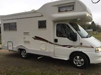 We buy your motorhome anything considered we pay more