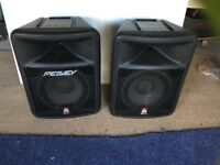 Peavey impulse 1012p Powered speakers