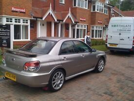SUBARU STI SPEC D...family man to sell a great car.............................................