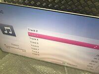 55'' SAMSUNG SMART 4K HDR QUANTUM DOT LED TV.2017 MODEL UE55KS7000.MINOR THIN LINE ON SCREEN.