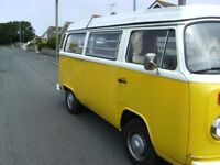 VW Type 2 Baywindow Westfilia Campervan 1973