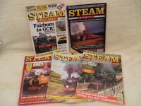 65 steam railway magazines