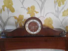 LARGE 50'S WESTMINSTER CHIMING MANTEL CLOCK SERVICED GWO