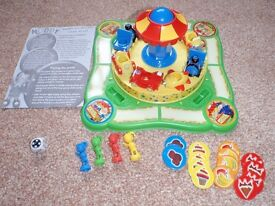 Noddy Merry Go Round Game - In original box and complete