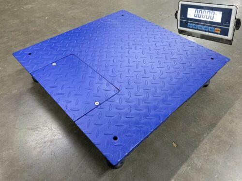 "SellEton Sl-2x2-2k Floor Scale ( 24"" X 24"" ) With Capacity of 2000 lbs X .5 lb"