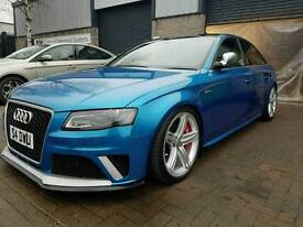 Audi s4 supercharged 488bhp mrc tuned rs4 bumpers