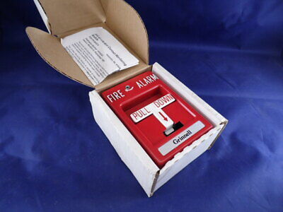 Rms-1t Fire Alarm Pull Station With Ixa-501cm Monitoring Module