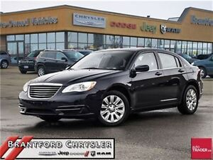 2013 Chrysler 200 LX ~ Gold Plan Warranty ~ one Owner ~ Power Op