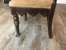 4 Oak Dinning Room Chairs