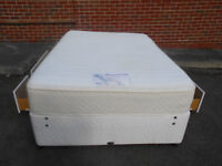 Myers double divan bed with 4 drawers - can deliver