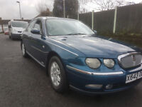 ROVER 75 CLUB 2.5 V6 MANAUL LOW MILES MUST SEE