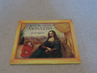 First Edition Hardback Book of 'Katie and The Mona Lisa' by James Maykew, 1998