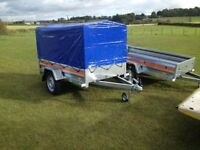 Trailer Brand new with canopy lightweight easy to tow