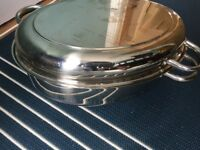 Jean Patrique Professional 42cm Double Oval Fish Roaster/Steamer never used